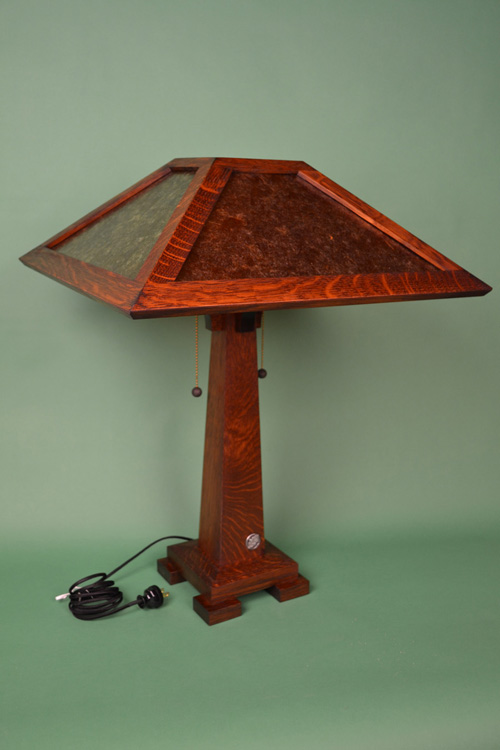 Mission Style Holland Reading Lamp
